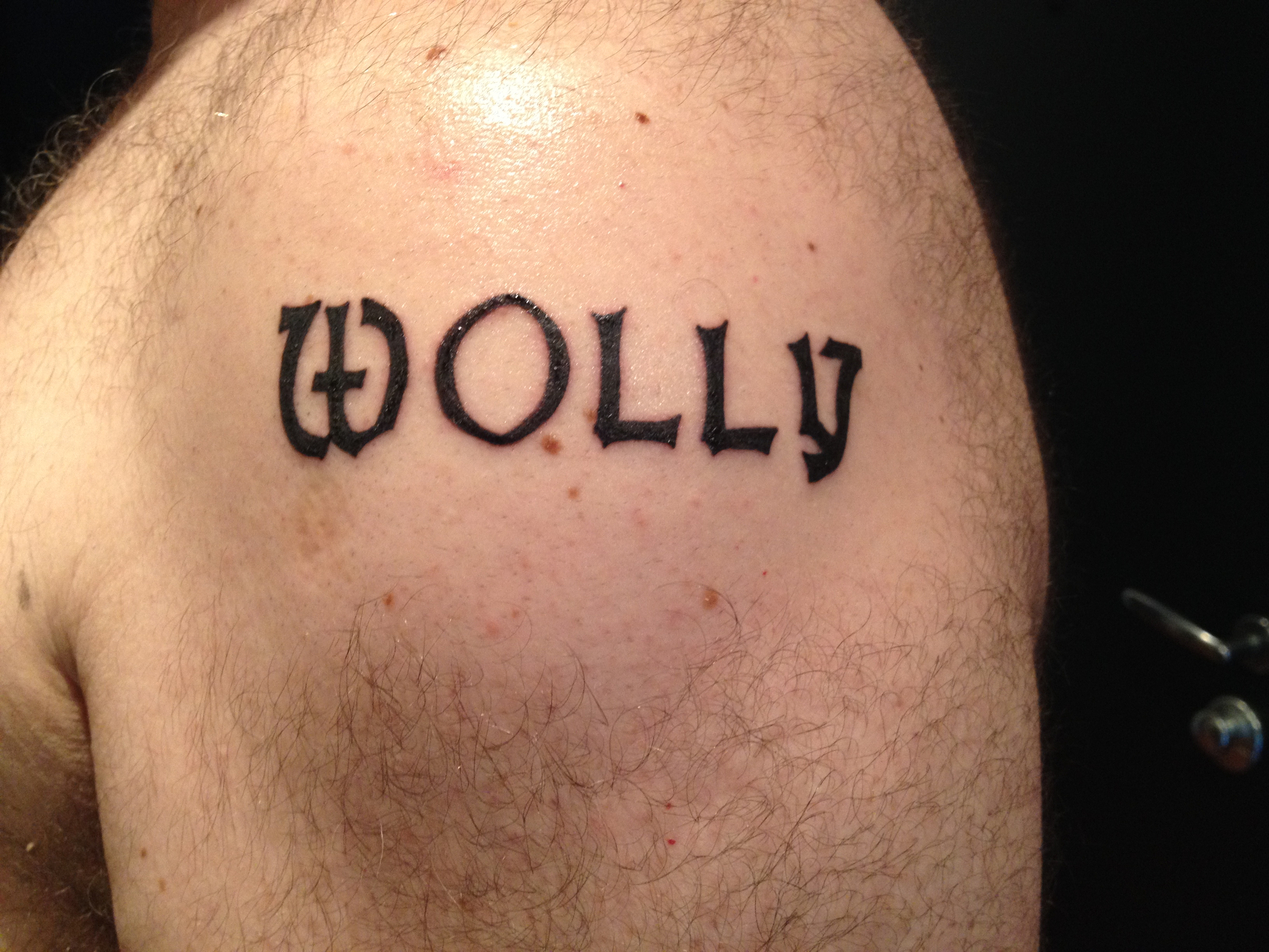 wolly tattoo